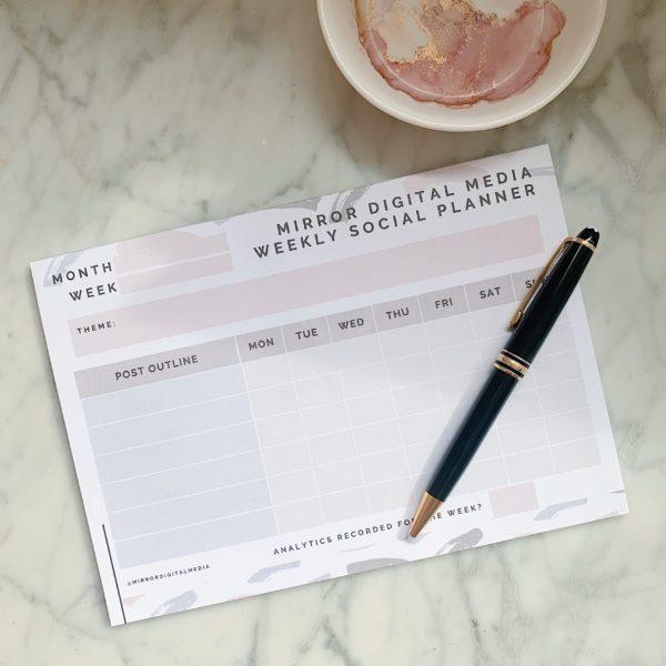 Notepad - Social Media Planner