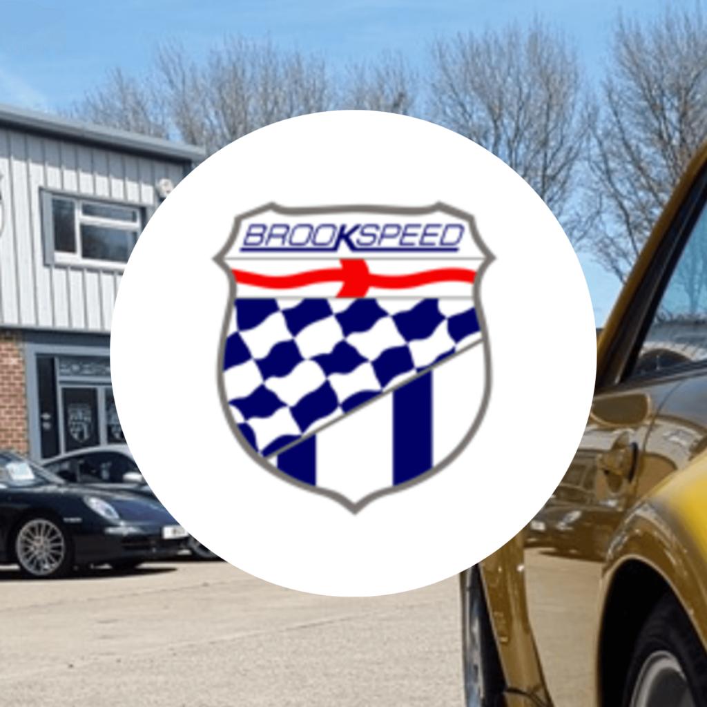 Brookspeed Porsche Advertisement