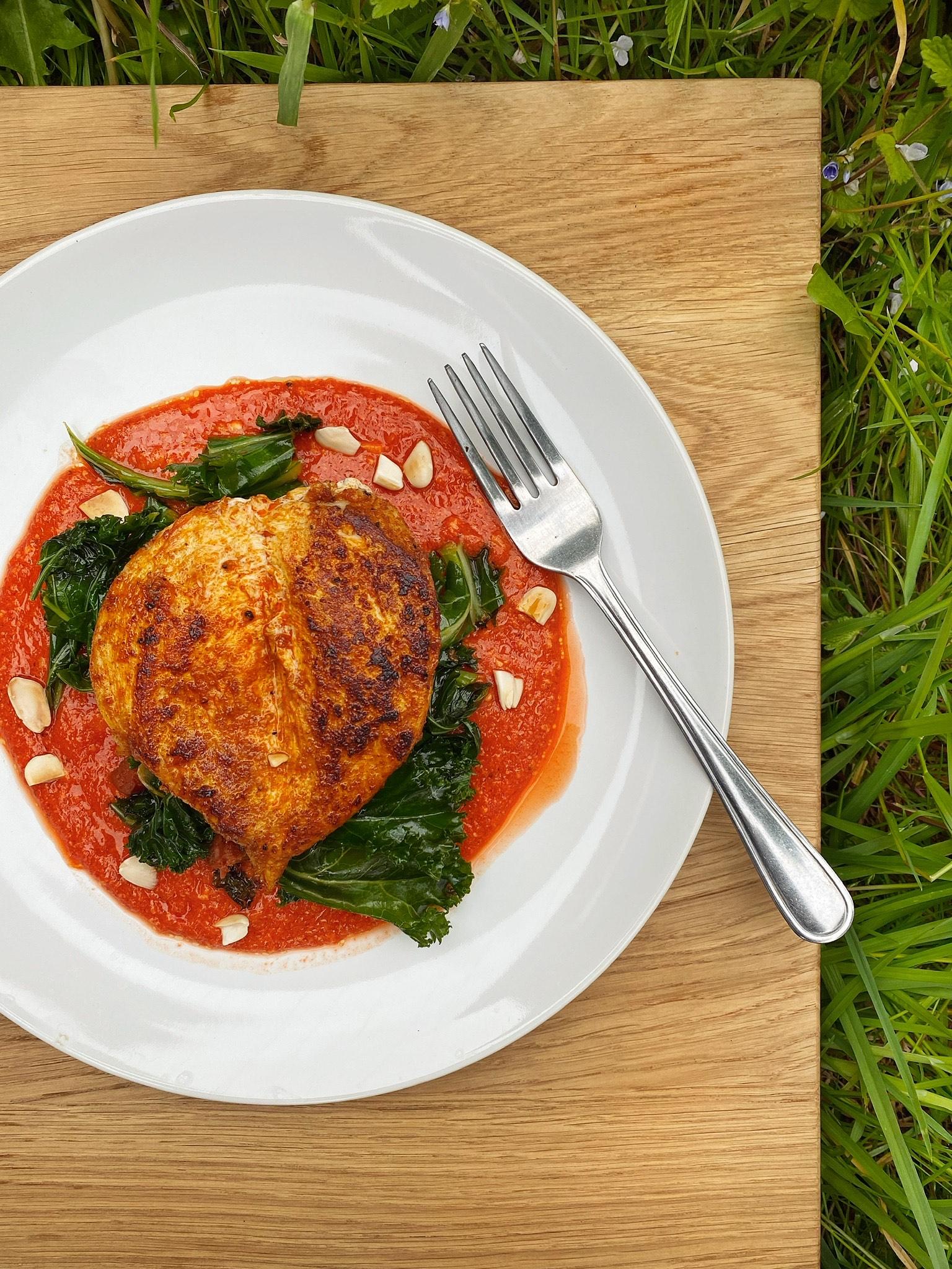 Chicken & Romesco southampton eats